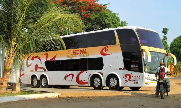 Movil Tours bus in Tarapoto