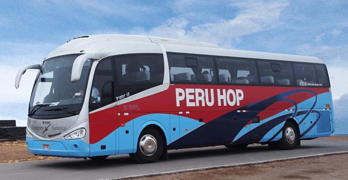 Peru hop bus