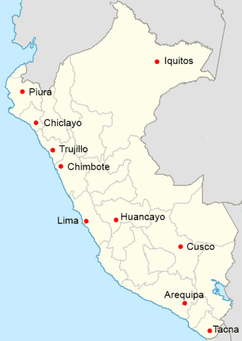 largest cities in peru