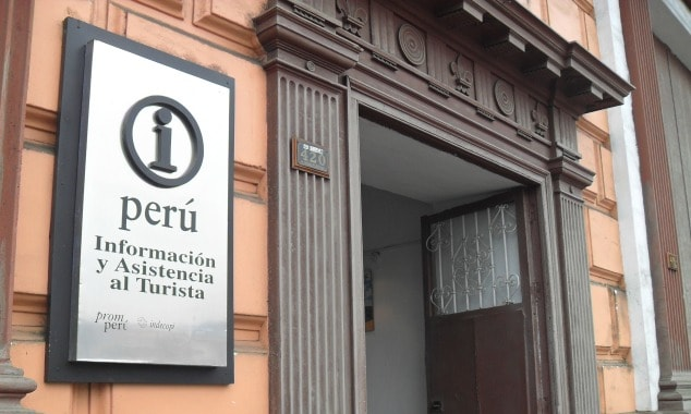 iPerú tourist information office