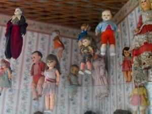 Scary Dolls in Trujillo