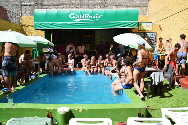 Wild Rover Hostel With Pool in Arequipa Peru - best hostels in arequipa