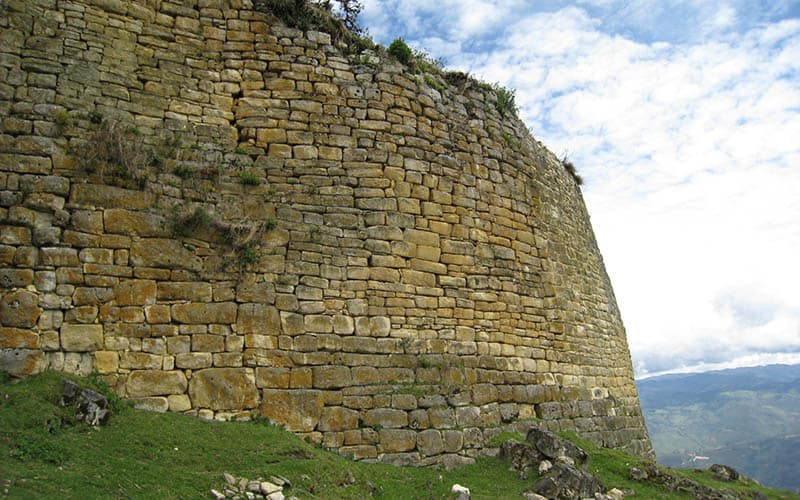 Kuelap's amazing structures