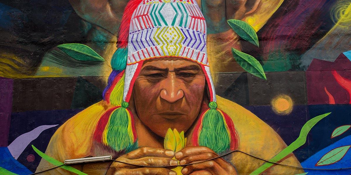 peruvian experience mural