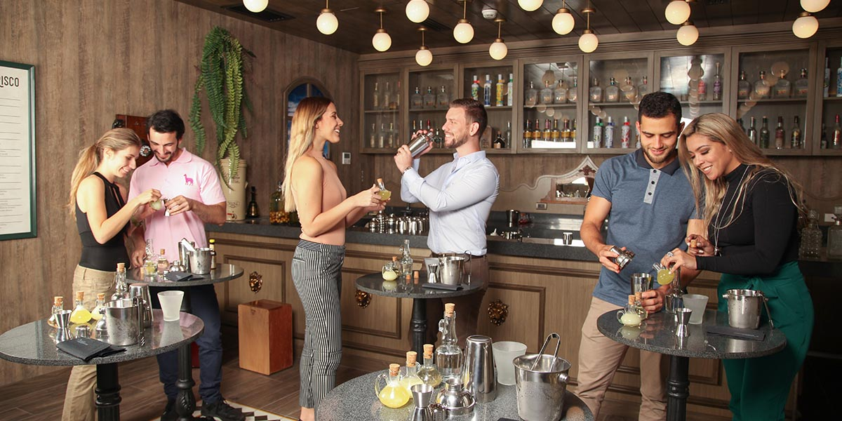 pisco tasting on lima food tour